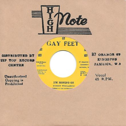 Johnny & The Attractions - I'm Moving On / Conquerors - Blabba Mouth (Gay Feet / Dub Store) 7""